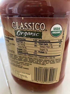 Pasta Sauce Tomato, Herbs & Spices