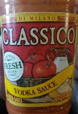 Classico, vodka pasta sauce