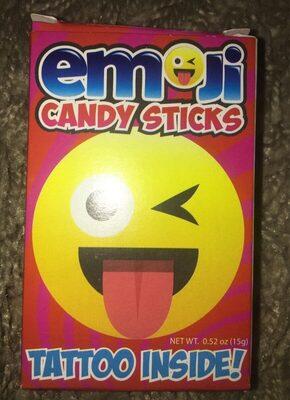 Emoji candy sticks