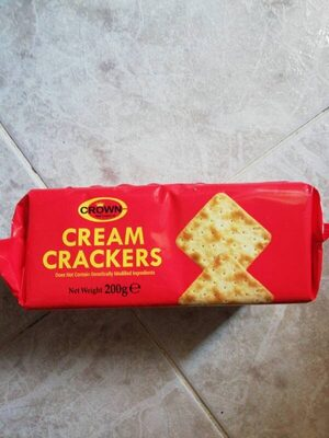 Galletas Crackers