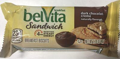 Belvita cookies dark chocolate 1x1.76 oz