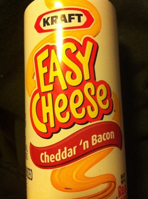 Nabisco easy cheese pasteurized cheese snack bacon 1x8.000 oz
