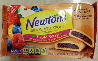 Nabisco newtons cookies mixed berry 1x10.000 oz
