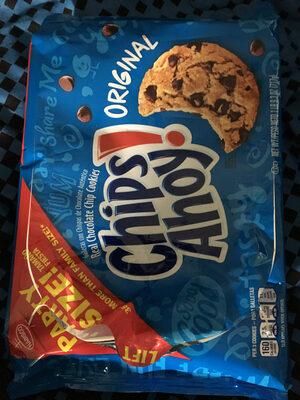 Chips ahoy! cookies original 1x25.3 oz