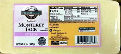 Natural Monterey Jack cheese