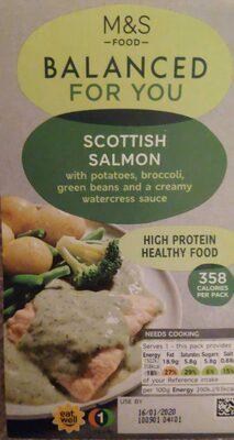 Balanced for you Scottish salmon meal
