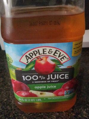Apple & eve, 100% juice, apple