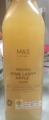 Pressed pink lady