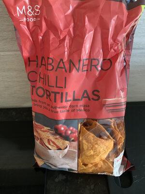 Habanero Chili Tortillas