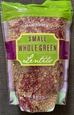 Trader joe's, small whole grain lentils