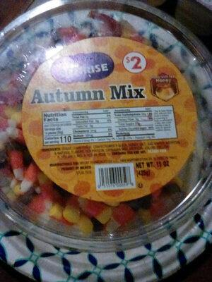Sunrise, autumn mix candy