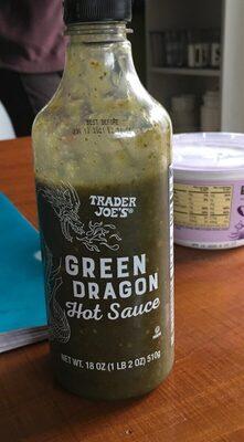 Green dragon hot sauce