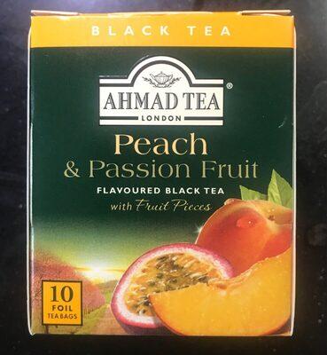 Ahmad Tea Black Tea Peach & Passion Fruit