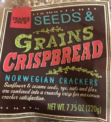 Seeds & grains crisbread