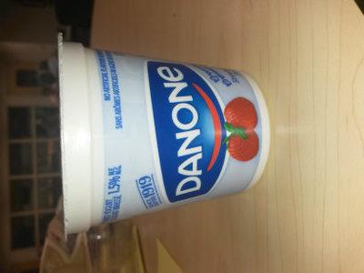Danone Creamy Strawberry Yogurt