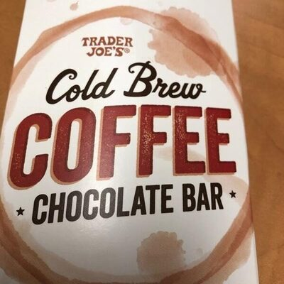 Cold Brew Coffee  Chocolate Bar