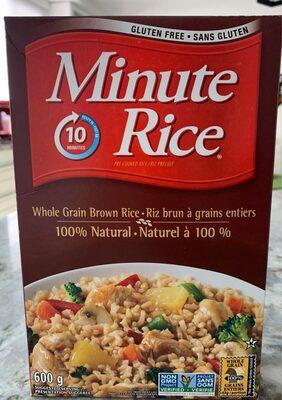 Whole grain brown ricw
