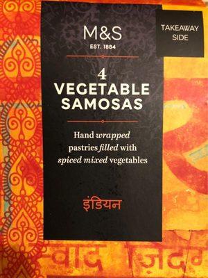 Samosas végétariens