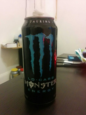 Lo carb energy drink