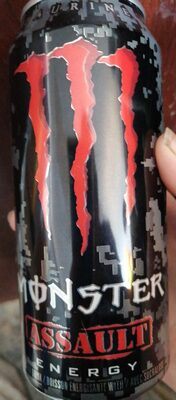 Monster Assault energy drink