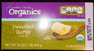 unsalted butter organics
