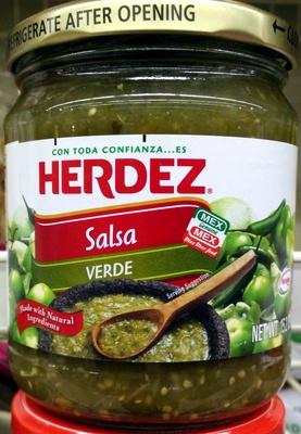 Verde salsa, verde