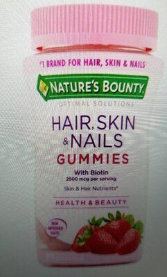 Hair, skin ans nails gummies