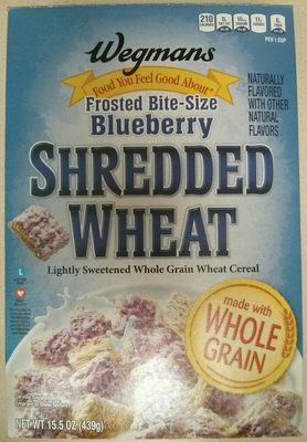 Frosted Bite-Size Blueberry Shredded Wheat