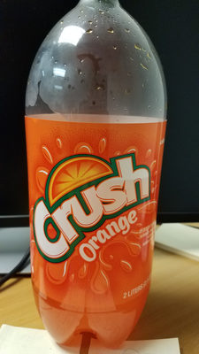 Crush, soda, orange, orange