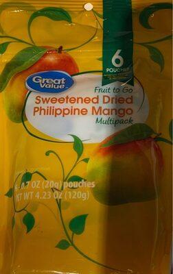 Sweetened dried philippine mango