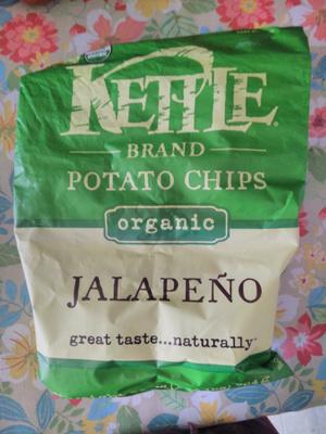 Kettle Brand Potato Chips Jalapeño