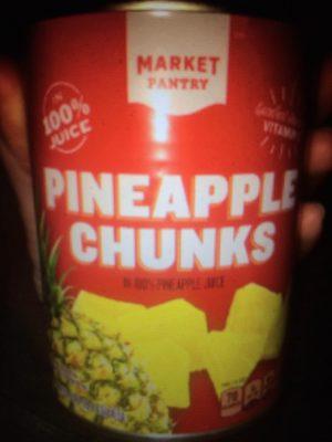 100% pineapple juice