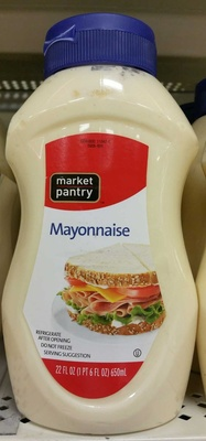 Squeezable mayonnaise