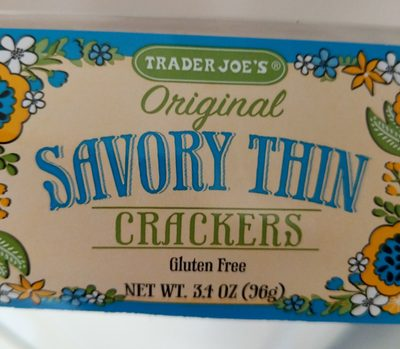 Savory Thin Crackers, Original
