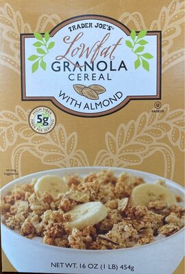 Lowfat Granola Cereal with Almond