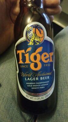 Biere Tiger 33CL Singapour 4.7% 0