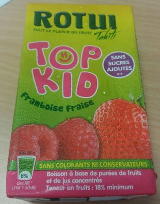 Top Kid framboise fraise
