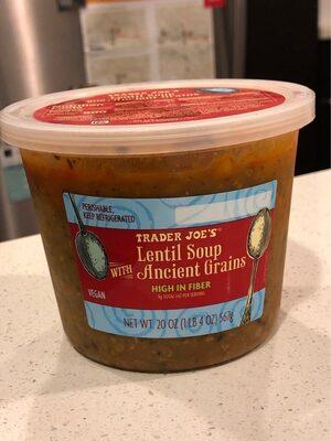 Lentil Soup with Ancient Grains