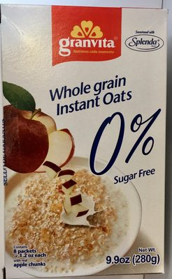 WHOLE GRAIN INSTANT OATS