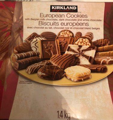 European Cookies Assortment With Belgian Chocolate Kirkland