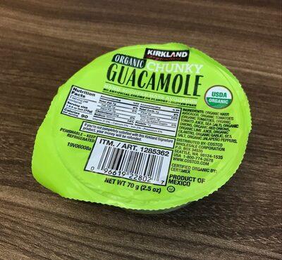 Organic Chunky Guacamole