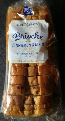 Brioche cinnamon raisin