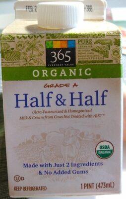 Organic Grade A Half & Half