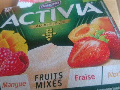 activia fruits mixés