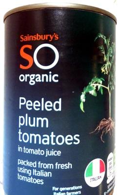 Italian organic plum tomatoes