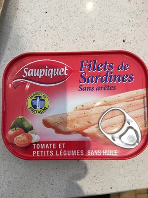Sardines saupiquet