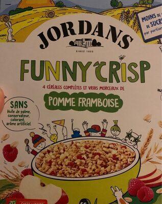 Jordans funny crisp pomme framboise