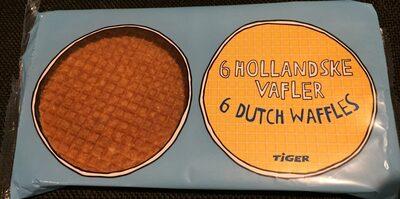 6 dutch waffles