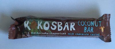 Coconut bar milk chocolate coated