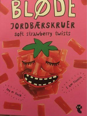 Soft strawberry twists